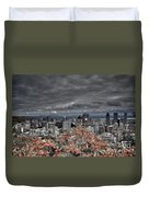 My Montreal's Colors Duvet Cover