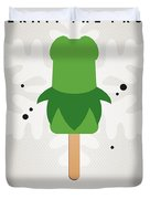 My Muppet Ice Pop - Kermit Duvet Cover