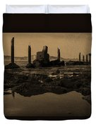 My Sea Of Ruins IIi Duvet Cover by Marco Oliveira