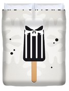 My Superhero Ice Pop - The Punisher Duvet Cover