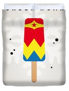 My Superhero Ice Pop - Wonder Woman Duvet Cover