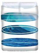 My Surfspots Poster-2-mavericks-california Duvet Cover