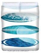 My Surfspots Poster-6-todos-santos-baja Duvet Cover