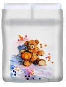 My Teddy Bear  Duvet Cover