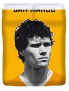 My Van Basten Soccer Legend Poster Duvet Cover