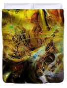 Mycelium Scene Duvet Cover