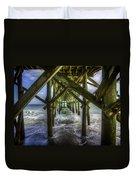Myrtle Beach Pier Duvet Cover