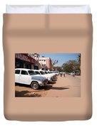 Mysore Taxis Duvet Cover