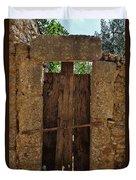 Mysterious Door Duvet Cover