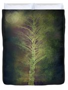Mysterious Tree In Moonlight Duvet Cover