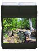 Mystery Bridge Duvet Cover