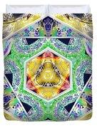 Mystery Cube Duvet Cover