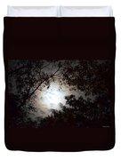 Mystery Of Moonlight Duvet Cover