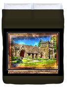 Mystic Church - Featured In Comfortable Art Group Duvet Cover