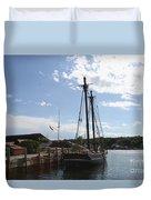 Mystic Harbor - Ct Duvet Cover