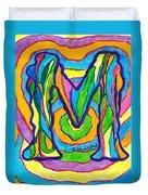 Mystic M Duvet Cover
