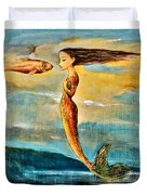 Mystic Mermaid IIi Duvet Cover