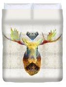 Mystic Moose Art By Sharon Cummings Duvet Cover