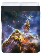 Mystic Mountain Duvet Cover