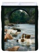 Mystic River I Duvet Cover