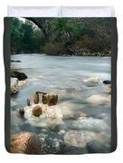 Mystic River II Duvet Cover