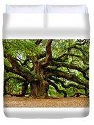 Mystical Angel Oak Tree Duvet Cover by Louis Dallara