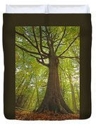 Mystical Forest Tree Duvet Cover