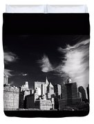 Mystical Manhattan Morning Duvet Cover