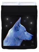 Mystical Wolf Duvet Cover