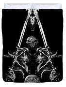 Mythology And Skulls 2 Duvet Cover
