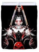 Mythology And Skulls Duvet Cover