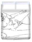 Naked-man-art-16 Duvet Cover
