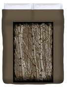 Naked Trees Duvet Cover