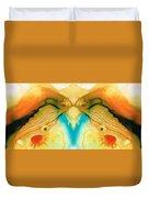 Namaste - Divine Art By Sharon Cummings Duvet Cover