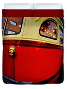 San Francisco Streetcar Duvet Cover