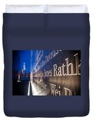 Names Duvet Cover