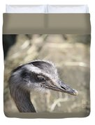 Nandu Or Rhea Portrait Duvet Cover