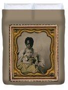 Nanny And Child, C1855 Duvet Cover