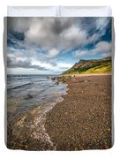 Nant Gwrtheyrn Shore Duvet Cover