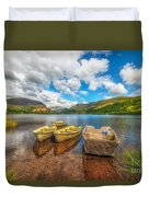 Nantlle Lake Duvet Cover