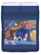 Nantucket Mermaid Tea Duvet Cover
