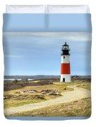 Nantucket's Sankaty Head Light Duvet Cover