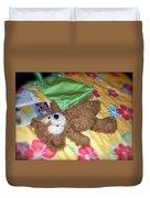 Nap Time Bear Duvet Cover