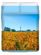 Napa Wine Capital Duvet Cover