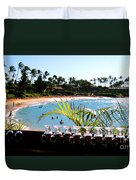 Napili Bay Maui Hawaii Duvet Cover