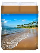 Napili Beach Paradise Duvet Cover