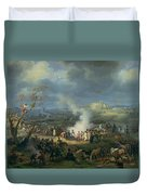 Napoleon 1769-1821 Visiting A Bivouac On The Eve Of The Battle Of Austerlitz, 1st December 1805 Duvet Cover
