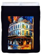 Napoleon House Duvet Cover