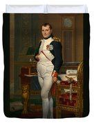 Emperor Napoleon In His Study At The Tuileries Duvet Cover