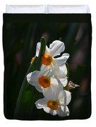 Narcissus Evening Glow Duvet Cover